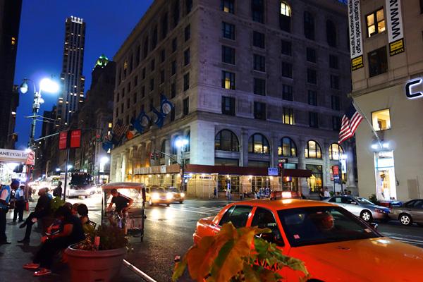 眠らない街、ニューヨーク。